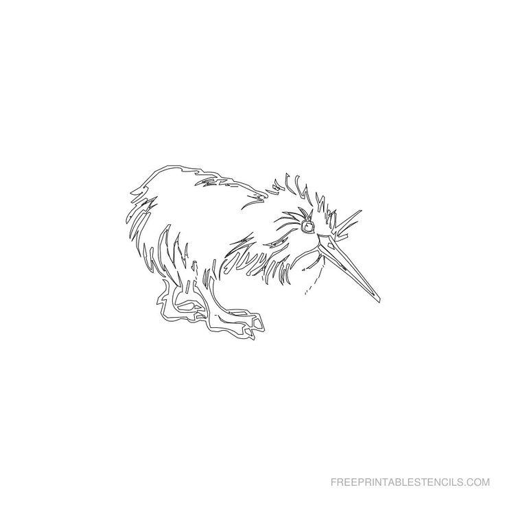 Free Printable Animal Stencil K