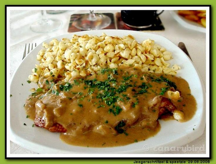 Jägerschnitzel Recipe - I freakin' love German food