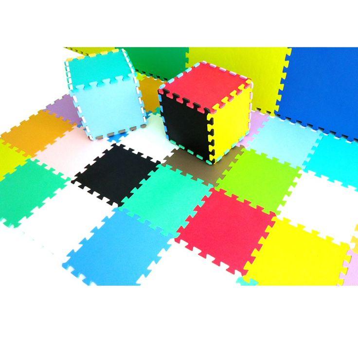 xiong guo play mats for kids pure colour eva foam mats flooring mats