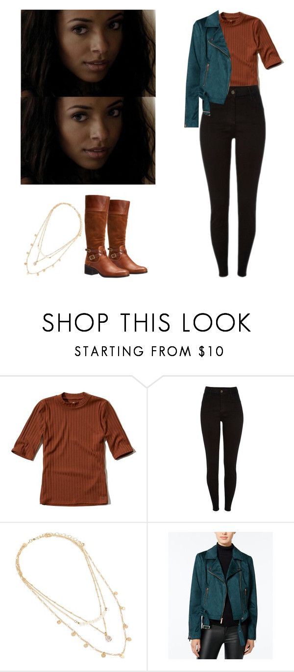 """""""Bonnie Bennett - tvd / the vampire diaries"""" by shadyannon ❤ liked on Polyvore featuring Hollister Co., Vera Bradley, Wildflower and Franco Sarto"""