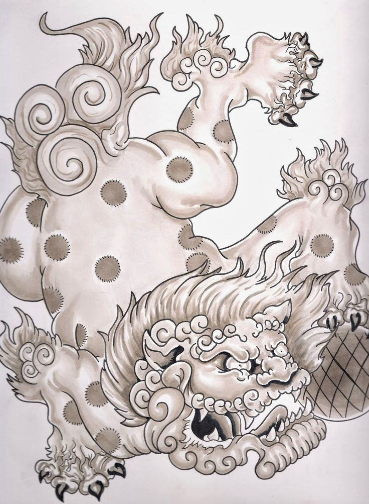 133 best foo dog images on pinterest asian tattoos dog tattoos and tattoo designs. Black Bedroom Furniture Sets. Home Design Ideas