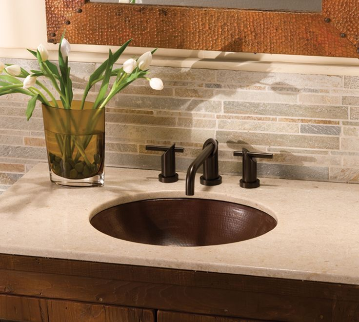 Great Copper Sinks Bathroom | Home Vanity Sinks Native Trails Classic Copper  Bathroom Sink