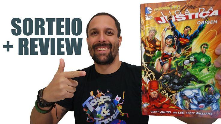 Liga da Justiça: Origem [Review + Sorteio edição autografada Jim Lee]