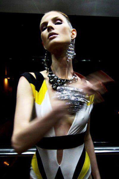 "Konstantinos Melis by Laskos ""PLASTIC FANTASTIC"" haute couture collection."
