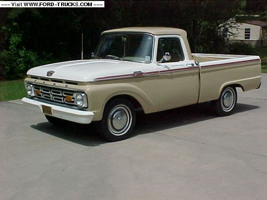 80 best images about 1964 Ford F100 on Pinterest | Ford ...