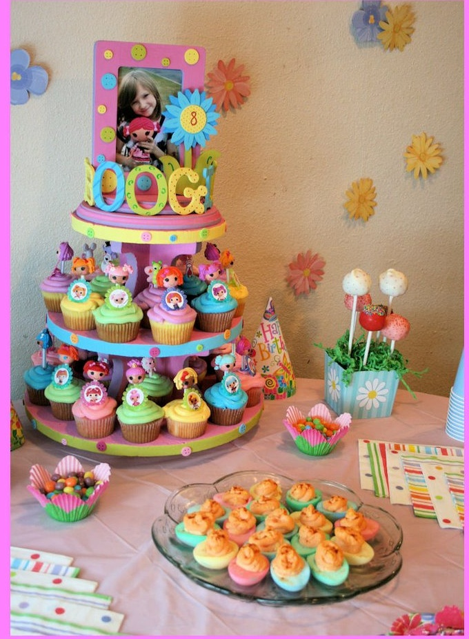Lalaloopsy Party Ideas Birthday Love The Minis On Cupcakes