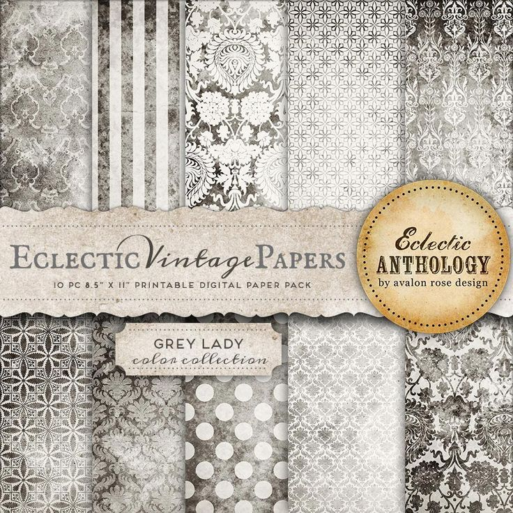 Eclectic Vintage Printable Papers - Grey Lady-vintage, graphics, papers, printable, scrapbook, textured, download, royalty free, commercial use, blue, gray, grey, black, white