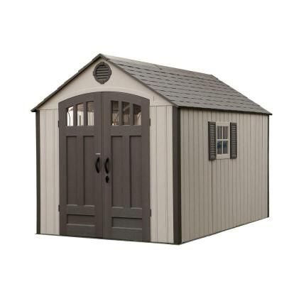 Storage Shed With Vertical   The Home Depot