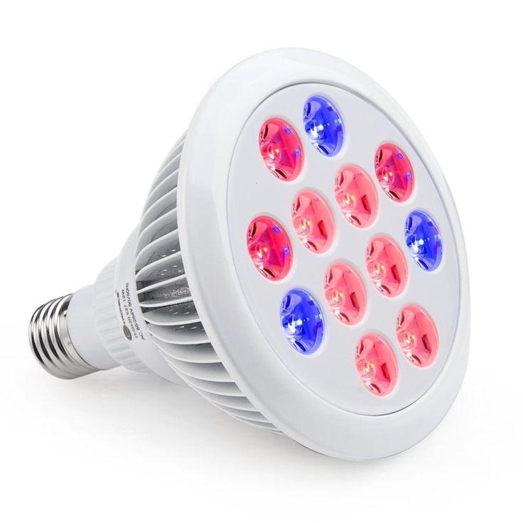 TaoTronics Led Grow light Bulb Grow Plant Light for Hydropoics Greenhouse Or...
