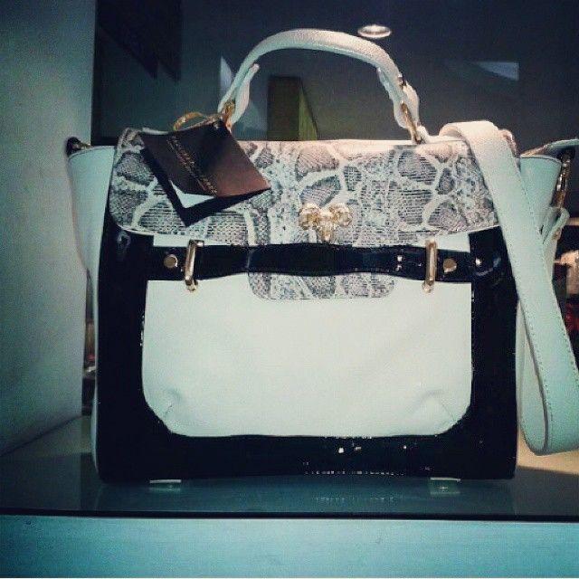 Un buen bolso marca siempre la diferencia #Mujer #latina #women #fashion #moda #handbag #goodlooking #animalprint #cuero #blackandwhite #elegant #style #bucaramanga #cccuartaetapa Blupp shoes @blupp_mitzi
