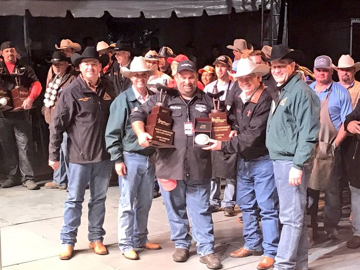 Team from Iowa wins the 2017 Houston Livestock Show and Rodeo World Championship BBQ Cook Off #barbecue #BBQ #food #grill #summer #plancha #party