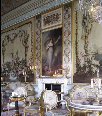 This is the Tapestry Drawing Room at Inveraray Castle.