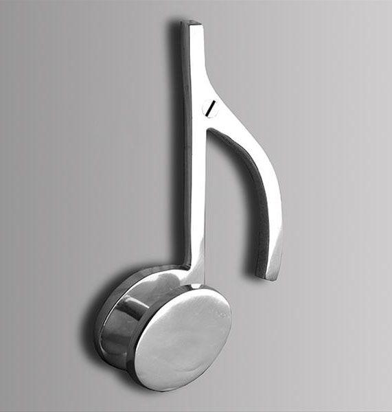 Perchero Nota Musical