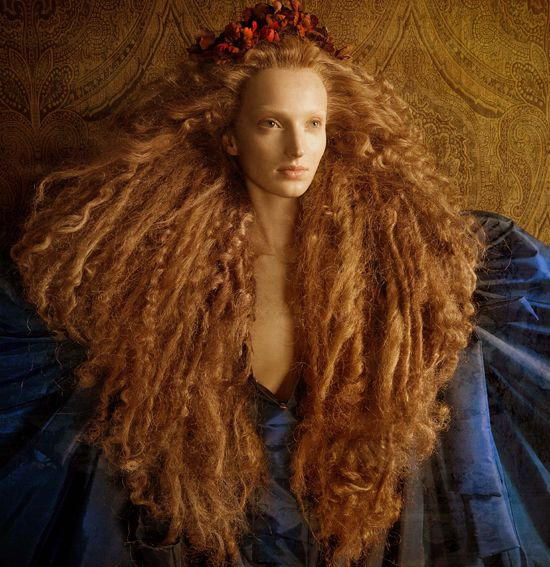 Jose Luis Tabluena (fashion photography with a renaissance flare. And big huge hair.)