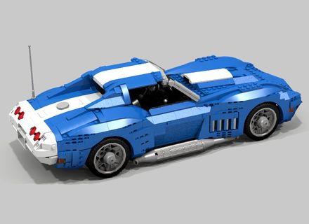 LEGO Ideas - 1969 Chevrolet Corvette
