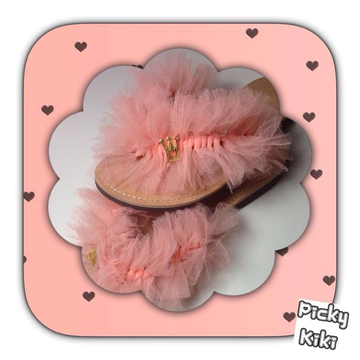 """Sleeping Beauty Princess"" Flip Flops 