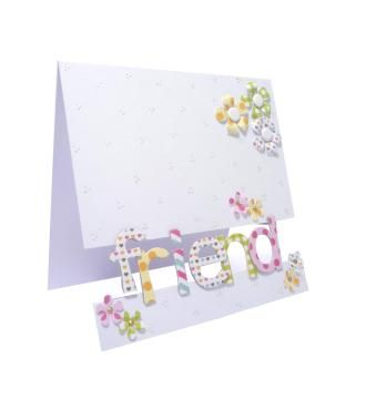 Craftwork cards - use recipient name, or Spring, etc