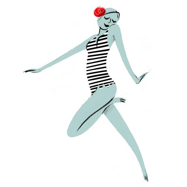 Synchro Swim Pattern by Simone Massoni: Swim Patterns, Posters Illustrations Art, Illustrations Patterns, Illustrations Affifch