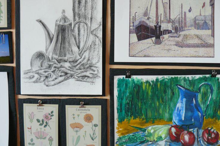 mačet: tvořivý blog - gallery wall