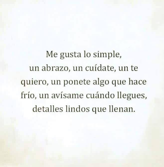 〽️ Me gusta lo simple...