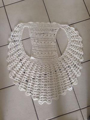 Crochet vest by Cloud9