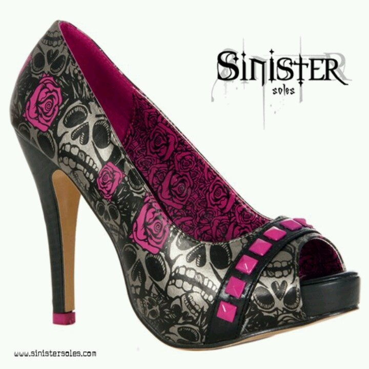 skull high heel i purses and shoes in