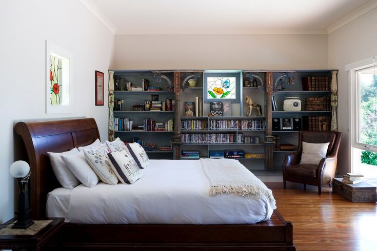 39 Best Images About Bookshelves Bedroom Bath On Pinterest Bedroom Bookcase Bedroom