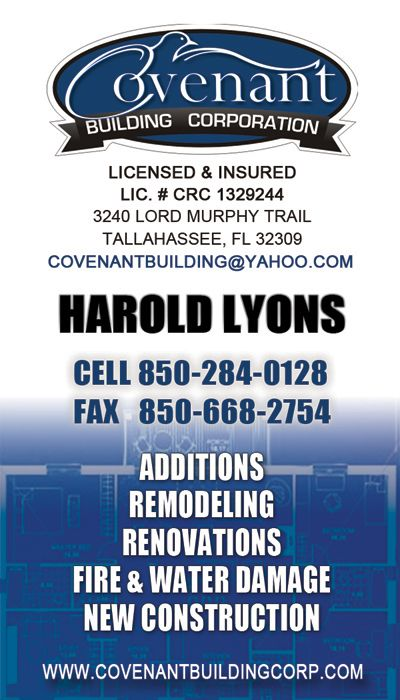 Business cards tallahassee gallery business card template 8 best business cards images on pinterest business cards visit business card of harold construction company colourmoves