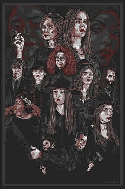 American Horror Story ~ Coven by rosmiforever