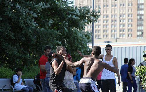 slap boxing | photo
