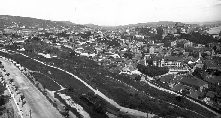 Tabán, Budapest, 1915.