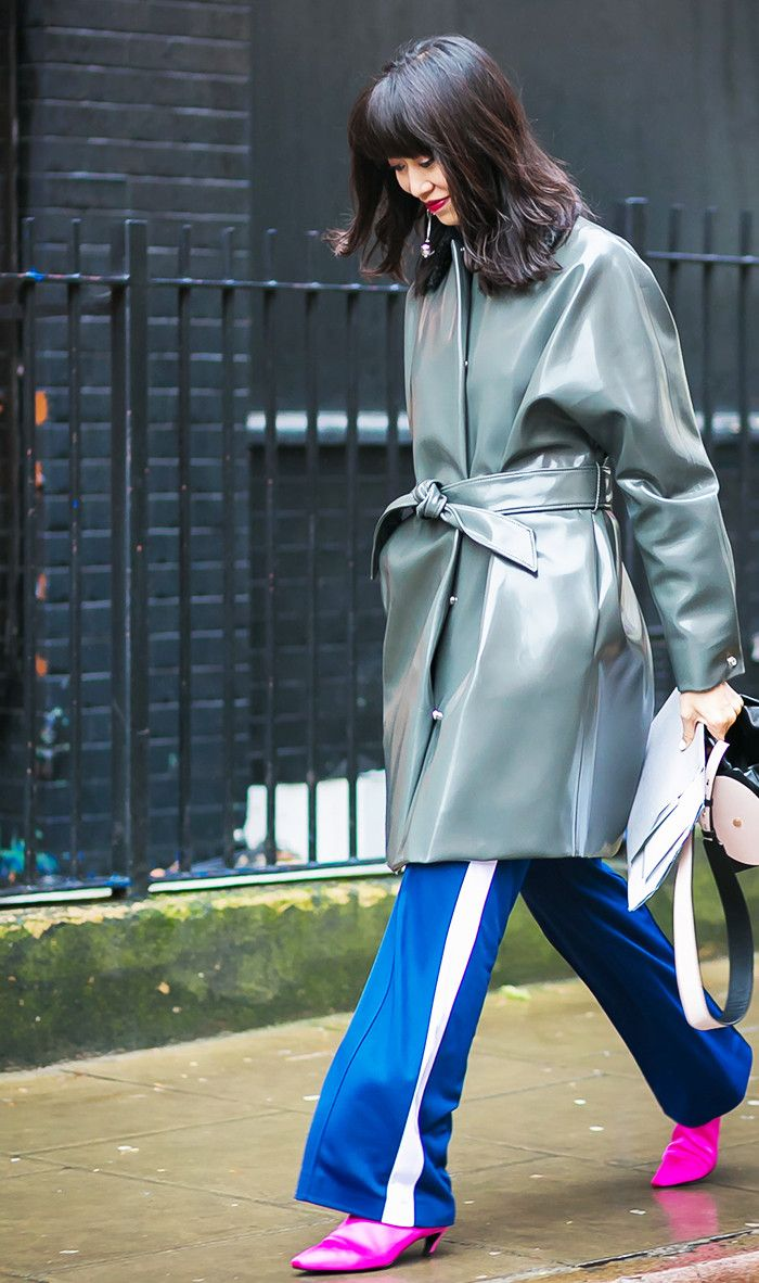 We've narrowed in on one trend street style girls wore on repeat during fashion month: pink shoes. Shop our favorite pieces.