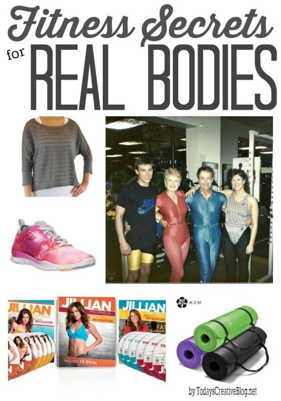 Fitness Secrets for Real Bodies   TodaysCreativeBlog.net