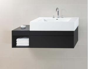 "0101363B02 by Ronbow in Atlanta, GA - Rebecca 36"" Wall Mount Bathroom Vanity Base Cabinet in Black"