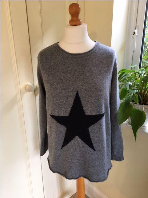 Grey Star Jumper