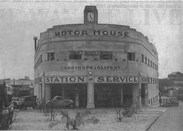 old Perth Petrol Stations - circa 1937