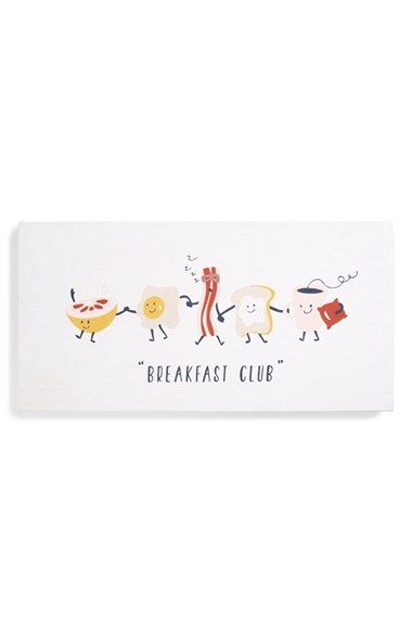 Nordstrom+at+Home+'Breakfast+Club'+Wall+Art+available+at+#Nordstrom