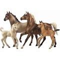 Breyer model horses.