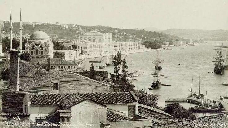 Dolmabahçe (1900'lü yıllar. Sebah&Joaillier)