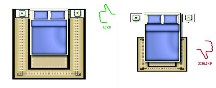 La giusta dimensione tappeti per la camera da letto, Quanto deve essere grande un #tappeto? http://www.carpeteden.it/tappetiarredamento