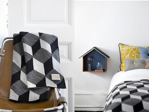 Blanket from Danish Ferm Living.
