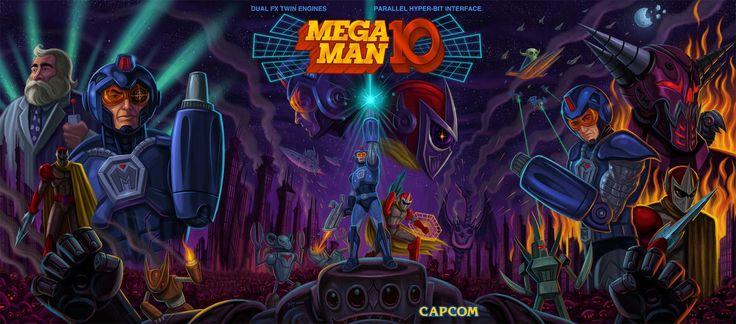 Amazing mega man 10