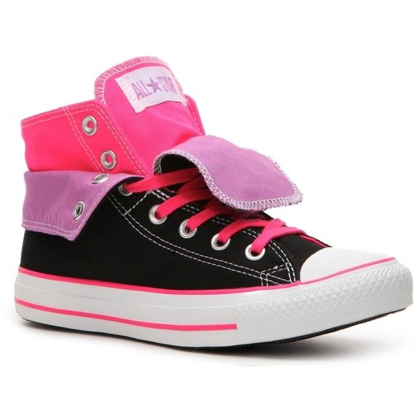 c971472b37a883 Converse Women s Chuck Taylor All Star HI Double-Fold Sneaker -... ( 50)  found on Polyvore