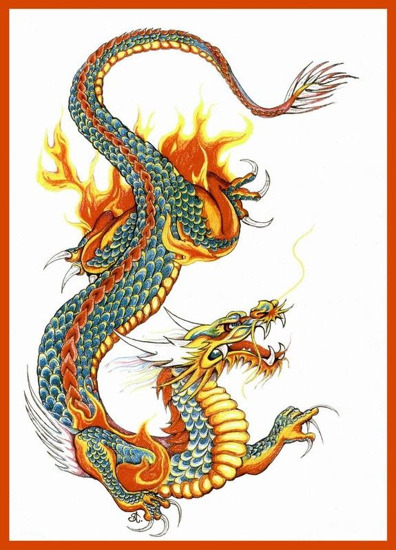 Dragon chinois                                                                                                                                                                                 Plus