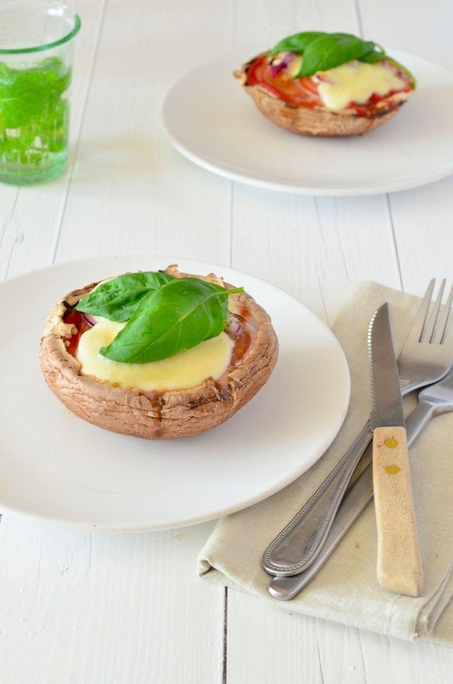 portobello pizza #healthy #food #voedselzandloper