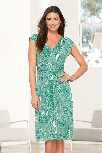 Dresses - Capture 'V' Tie Dress
