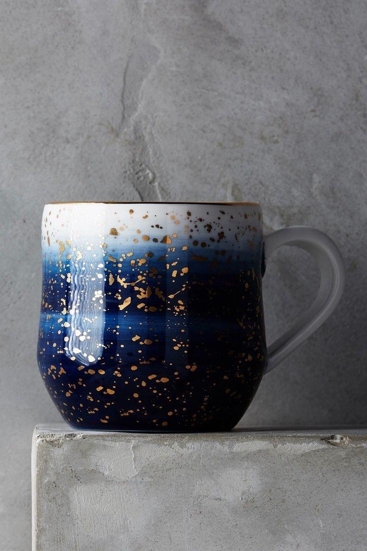 Blauw en goud