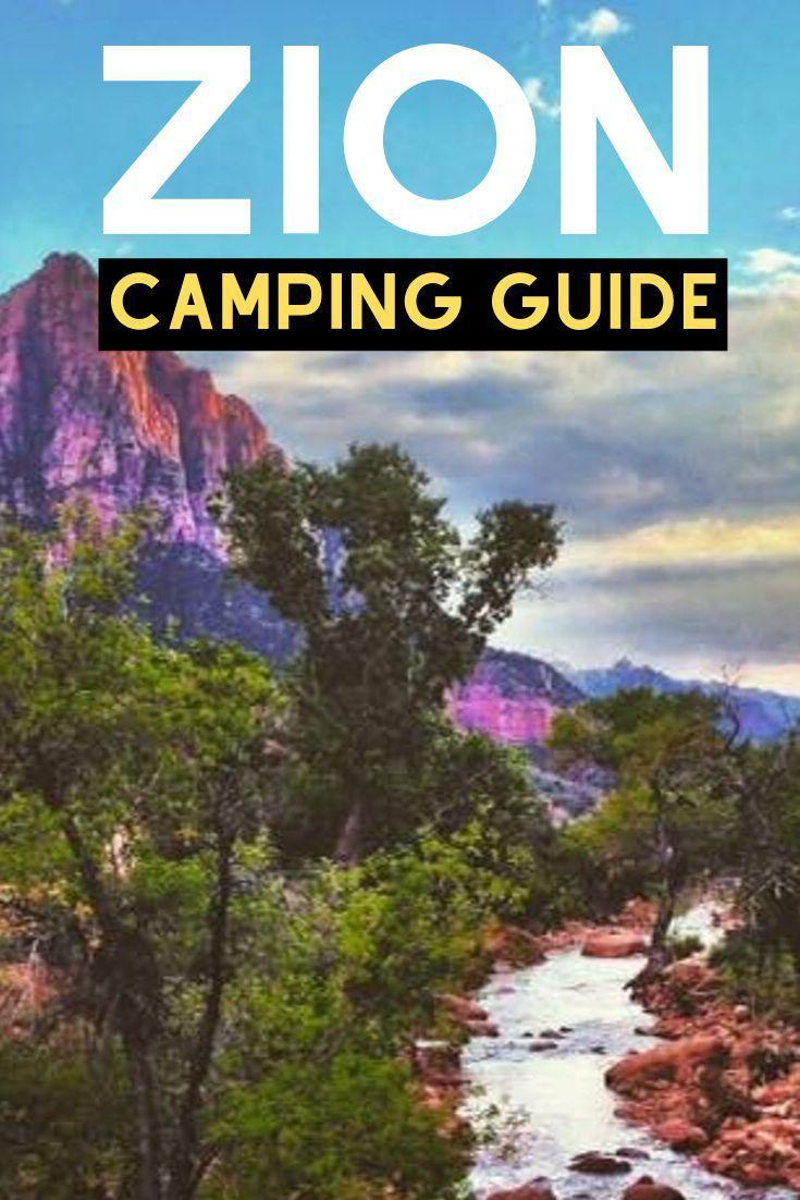 Envisagez-vous un voyage de camping épique dans le parc national de Zion? Si c'est le cas, vous venez …   – Roadside America