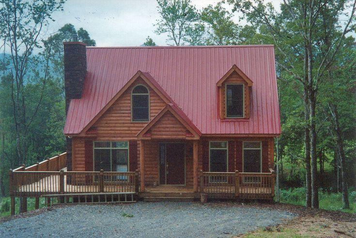 Best 25 log cabin modular homes ideas on pinterest log for Log siding house plans