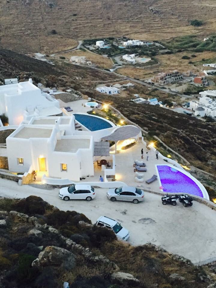 Maera Villas from above